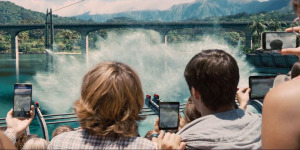 Jurassic World - Big splash