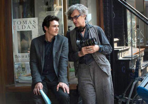 "Wim Wenders et James Franco sur le tournage de ""Everything will be fine"""
