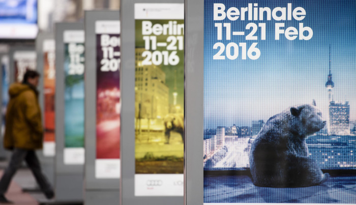 BERLIN, GERMANY - FEBRUARY 02: Posters advertise the 66th edition of the Berlinale film festival in Berlin on February 2, 2016 in Berlin, Germany. (Photo by Clemens Bilan/Getty Images)